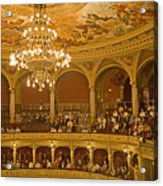At The Budapest Opera Acrylic Print by Madeline Ellis