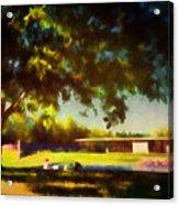 At The Clark IIi Acrylic Print