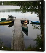 At The Country Dock Acrylic Print