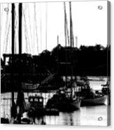 At The Docks Acrylic Print