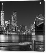 At The Edge Of Brooklyn Acrylic Print