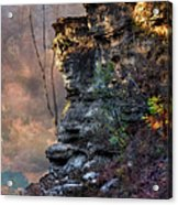 At The Edge Of The Earth Acrylic Print