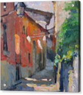 At The End Of The Alley Acrylic Print