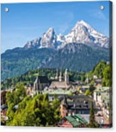 At The Foot Of The Watzmann Acrylic Print
