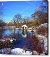 At The Frozen Lake Acrylic Print