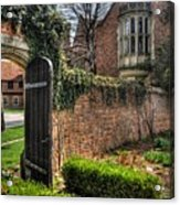 At The Gate Acrylic Print