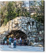 At The Grotto Acrylic Print