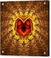 At The Heart Of The Matter Acrylic Print
