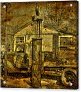 At The Pumps No.7009a1 Acrylic Print