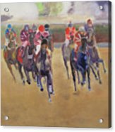 At The Races Acrylic Print