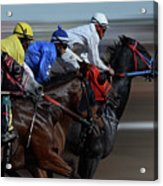 At The Racetrack 1 Acrylic Print