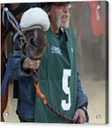 At The Racetrack 5 Acrylic Print