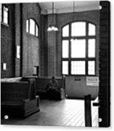 At The Station Acrylic Print