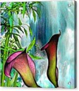 At The Waterfall Acrylic Print