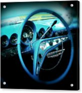 At The Wheel Acrylic Print