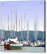 At The Yacht Club Acrylic Print