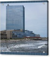Atalantic America Board Walk And Architecture July 2015 Photography By Navinjoshi At Fineartamerica. Acrylic Print