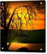 Atardecer Salton Sea Acrylic Print