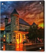 Atchison Post Office  Acrylic Print