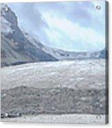 Athabasca Glacier, Jasper National Park Acrylic Print
