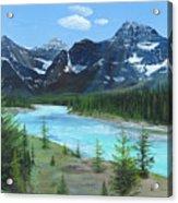 Athabasca River Acrylic Print