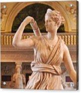 Athena Statue Acrylic Print