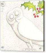 Athenian Owl Acrylic Print