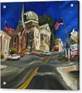Athens Al Acrylic Print by Carole Foret