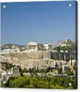Athens Acrylic Print by Julia Bridget Hayes