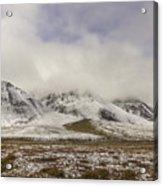 Atigun Pass Brooks Range Alaska Acrylic Print