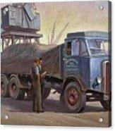 Atkinson At The Docks Acrylic Print