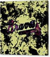 Atlanta Braves 1c Acrylic Print