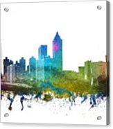 Atlanta Cityscape 01 Acrylic Print