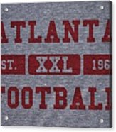 Atlanta Falcons Retro Shirt Acrylic Print