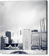 Atlanta Fog Acrylic Print