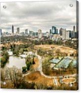 Atlanta Georgia City Skyline Acrylic Print