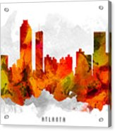 Atlanta Georgia Cityscape 15 Acrylic Print