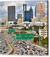 Atlanta Georgia Thrives Acrylic Print