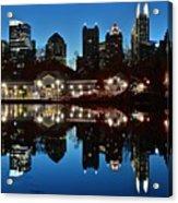 Atlanta Reflects Acrylic Print