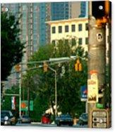 Atlanta Street Scape Acrylic Print