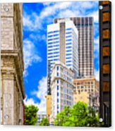 Atlanta's Flatiron On Peachtree Street Acrylic Print