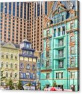 Atlantic City Boardwalk Acrylic Print