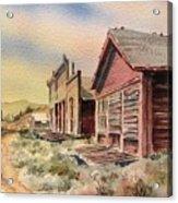 Atlantic City Ghost Town Wyoming Acrylic Print
