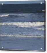 Atlantic Ocean Gradient Acrylic Print