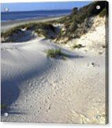 Atlantic Ocean Sand Dunes Acrylic Print
