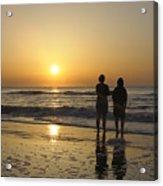 Atlantic Ocean Sunrise Acrylic Print