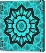 Atlantis Stained Glass Acrylic Print