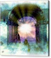 Atlantis Welcomes You Acrylic Print