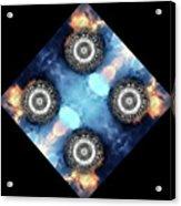 atmoSPHERE Fractal 11 Acrylic Print