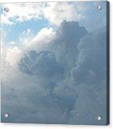 Atmospheric Barcode 19 7 2008 16 Acrylic Print